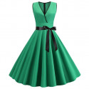 MMM SÉLECTION - Robe Vintage - Robe d'été année 50s Plissée 27,99 €   My Major Market