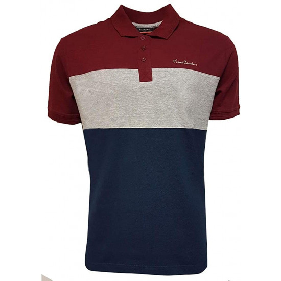 PIERRE CARDIN - POLO HOMME - MANCHES COURTES
