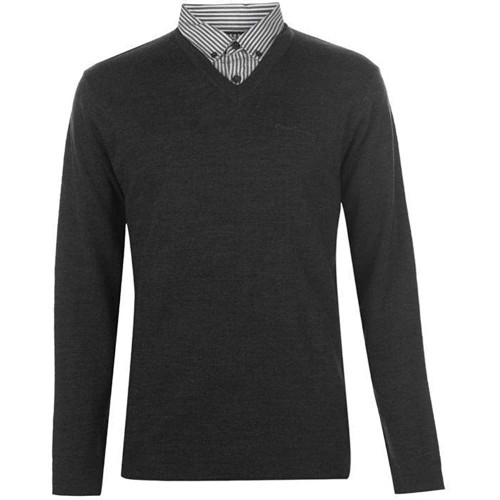 PIERRE CARDIN - PULL HOMME - MANCHES LONGUES