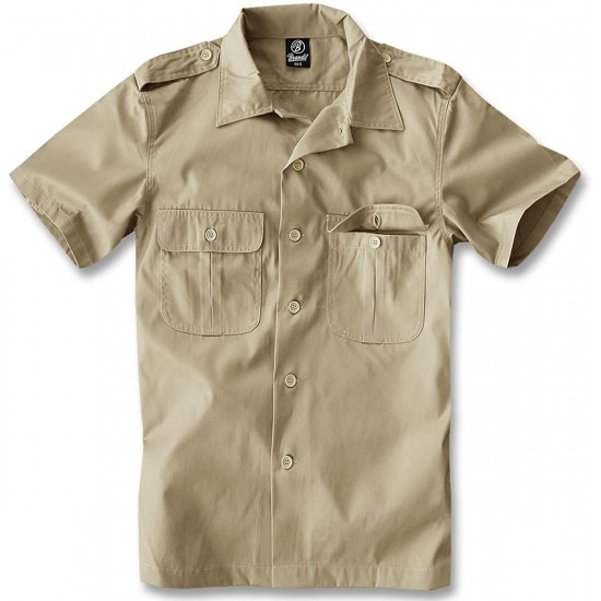 BRANDIT - CHEMISE HOMME - MANCHES COURTES - AMERICAN STYLE