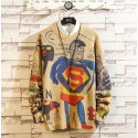 RUIHUO - Pull Homme - Manches longues - Illustrations enfantines - Tendance 34,99 € | My Major Market