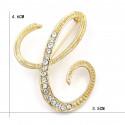 MMM Sélection - Broches épingles Femme - Alphabets Dorés 5,99 €   My Major Market
