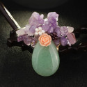 MMM Sélection - Épingles artisanales Femme - Bouquet en cristal et pierre naturelle 15,99 € | My Major Market