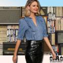 CHEMISE EN JEAN POUR FEMME - VOLANTS 40,99 € | My Major Market