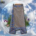 PANTALON JUPE VINTAGE - MOTIFS MOSAÏQUES 34,99 € | My Major Market