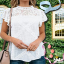 HAUT VINTAGE - STYLE ROMANTIQUE -SAISONS PRINTEMPS-ÉTÉ 35,99 €   My Major Market
