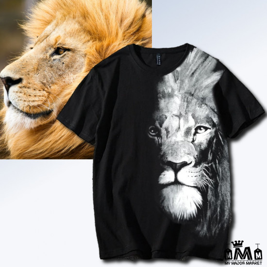 T-SHIRT AMPLE - COTON - THE LION WITHIN YOU