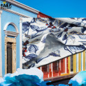 CHEMISE FLORALE HOMME - COTON MERCÉRISÉ - CHARMING BLUE 49,99 €   My Major Market