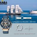 MONTRE POUR HOMME - QUARTZ - CHRONOGRAPHE 46,99 € | My Major Market