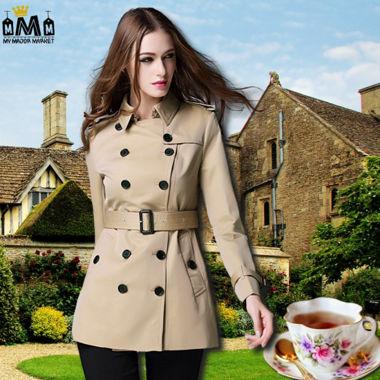TRENCH FEMME - CLASSE & SANGLES