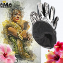 GANTS POUR FEMME - 100% CUIR - MOTIF PYTHON 47,99 € | My Major Market