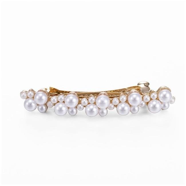 MMM Sélection - Barrette à Clip Femme - Strass et perles 7,99 € | My Major Market