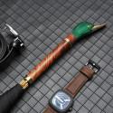MMM Sélection - Parapluie Long - Semi-Automatique - Haut de gamme - Acajou Rose - Vintage 199,99 € | My Major Market