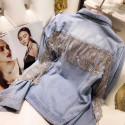 MMM Sélection - Veste en Jean pour Femme - Franges Strass 91,99 €   My Major Market